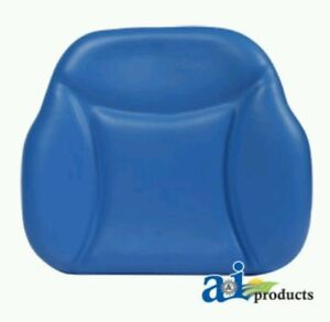 Big Boy Seat Replacement Back Cushion For Ford new Holland Model Tractors Blue