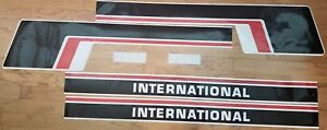 International Tractor 3588 Hood And Cab Decal Set