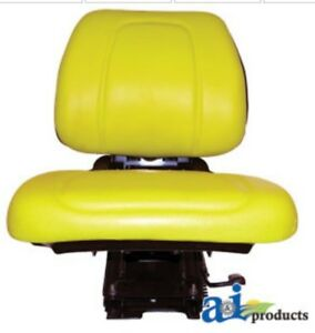 John Deere Seat Assembly With Suspension And Cushions Fits Models 5200 5300 5400
