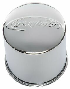 U S Wheel C425p Custom Steel Center Cap Fits 4 280 Bore For All 5 On 5 50 And