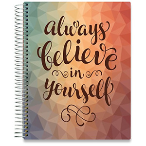 Tools4wisdom Planner April 2019 2020 8 5 X 11 Spiral Hardcover Daily