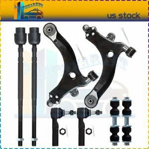 For 2000 2013 Chevrolet Impala New 8pcs Suspension Kit Tie Rod Control Arm