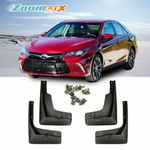 Fit 2015 2017 Usa Toyota Camry Oe Style Front Rear Set Splash Guards Mud Flaps