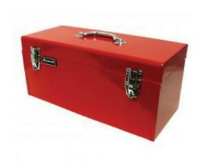 Homak Mfg Red 20in High Tool Box W black Metal Tray
