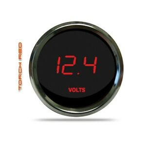 Intellitronix Ms9015r Led Digital Voltmeter 2 1 16 7 To 25 5 Volts Chrome Red