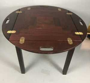 Trekanten Danish Rosewood Tray Top Side Butler Style Table Pls Rd Dtls