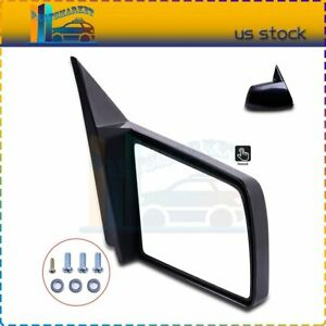 For 88 98 Gmc Chevy Pickup Truck Manual Side View Door Mirror Passenger Right Rh
