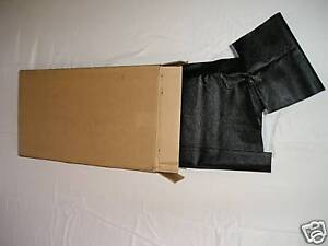 1969 1970 Mercury Cougar Black Vinyl Top Double Heat Sealed Seams In Stock