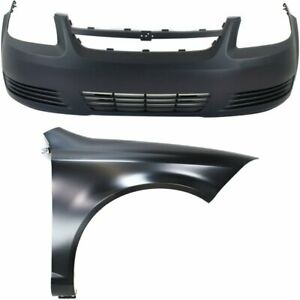 Front New Auto Body Repair Kit For Chevy Chevrolet Cobalt 2005 2010
