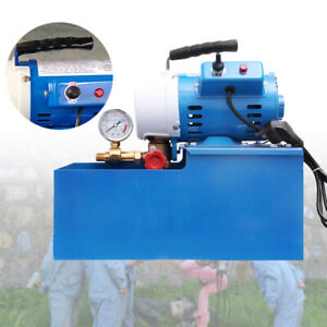 110v 2 5mpa 0 25kg Electric Pressure Test Pump Hydraulic Piston Testing Pump Us