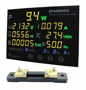 Https www aliexpress com item epm6600 multifunction power monitor with multico