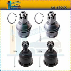 Fits For 2006 2008 Dodge Ram 1500 4wd New 4 Pair Upper Lower Ball Joints Kit