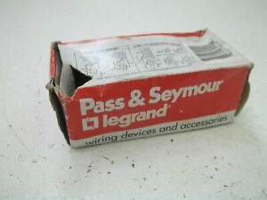 Pass Seymour 690 ig Combination Device new In Box