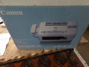 Canon Faxphone L90 All in one Desktop Laser Printer Fax And Copy Machine New Nib