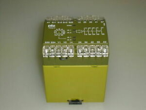 Pilz Pnozv30s3s1sz 1o 474790 Safety Relay used