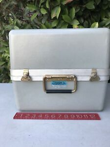 Vintage 15 X 14 X 14 Skydyne Hinged Composite Waterproof Shipping Storage Case