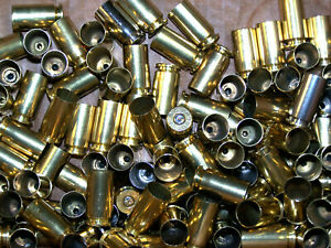 125  EMPTY BRASS RELOADING SHELL  CASES 40 S&W  HUNTING SPORTING