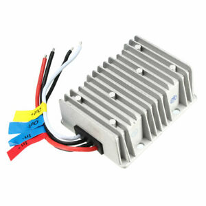 New Big size Waterproof Dc 12v Step up To Dc 48v 8a Booster Converter Regulator