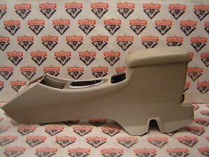 2007 2013 Chevrolet Impala Ss Oem Floor Center Console Assembly W Lid Gray