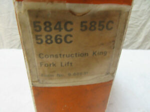 Case Construction King 584 585 586 C Fork Lift 1976 Dealer Shop Manual 9 66637
