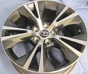 Toyota Highlander 2019 18 Oe Wheels 4 Oem Factory Stock Alloy Rims 18x7 5