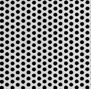 Perforated Steel Sheet 1 4 Perfs 5 16 Staggered Centers 20g X 24 X 72