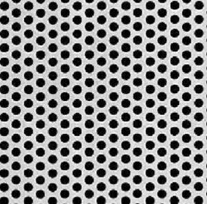 Perforated Steel Sheet 1 4 Perfs 5 16 Staggered Centers 20g X 36 X 36