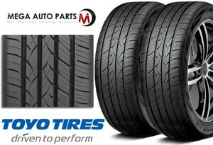 2 New Toyo Versado Noir 235 45r17 97h All Season Premium High Performance Tires