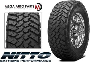 1 New Nitto Trail Grappler M T 37x12 50r20 126q E 10 Mud Terrain Tires