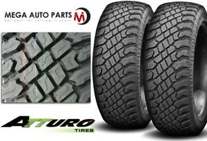 2 Atturo Trail Blade X T 35x12 50r17 10 121q Extream Off Road Style A T Tires