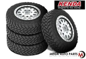4 Kenda Klever M T Kr29 35 12 5r18 123q 10 Ply Off Road All Terrain Mud Tires