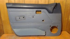 84 87 Honda Civic Wagon Interior Door Panel Card Blue Driver Left Front