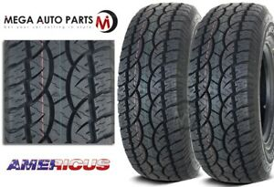 2 New Americus At 30x9 50r15 104s C 6 All Terrain Performance Tires
