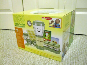 Magic Bullet Baby Bullet 20-Piece Complete Baby Food Making System