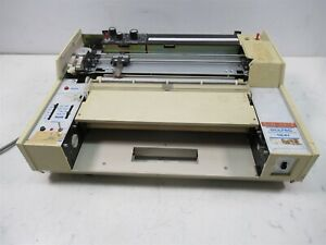 Soltec 1241 Pen Strip Chart Recorder Lab Laboratory Unit 3 Pen Color Printer