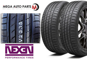 2 New Nexen N Fera Su1 205 40r16 79w All Season Ultra High Performance Tires