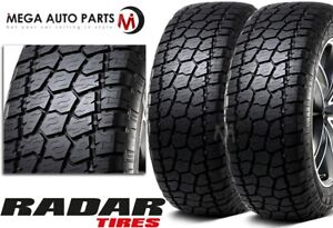 2 New Radar Renegade At 5 35x12 50r18lt Owl Off Road All Terrain Tires