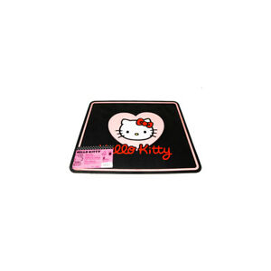 Hello Kitty Heart W Bow Universal Rubber Rear Floor Mat 1pc