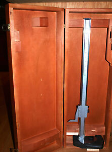 Beautiful 24 Starrett 254 Master Vernier Height Gage With Bestest Indicator