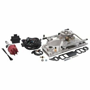 Edelbrock 35850 Pro flo 4 Efi System Big Block Chevy Rectangle Port Heads Sequen