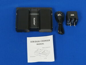 Dual Bay Battery Charger For Trimble Sps985 Tsc1 R8 5800 5700
