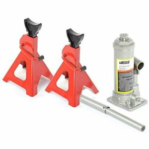 Jegs Performance Products 79005k Jack Kit Includes 1 2 ton Bottle Jack 2 3