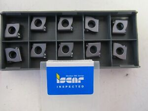 Lot Of 10 Iscar Lnmx 110412r ht Ic908 Carbide Turning Inserts New