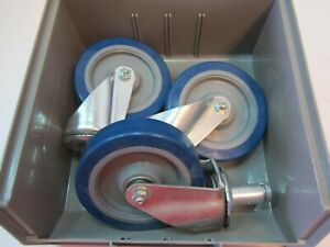 Lot Of 3 Wagner 5 X 2 1 4 Wheel Swivel 2 X 1 Stem Casters New