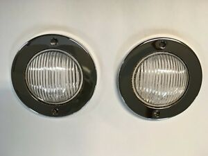 Pair Of Parking Light Kits Fits Willys Pu Wagon Sedan Delivery Jeepster 47 49