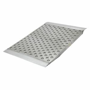 Aluminum High traction Shipping Container Ramp 48 L X 36 W