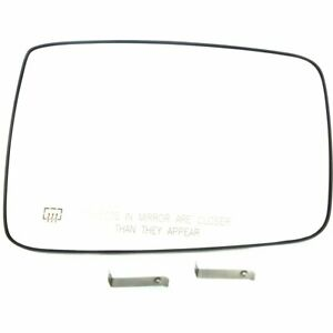 Right New Mirror Glass Heated For Truck Passenger Side Rh Hand Dodge Ram 1500