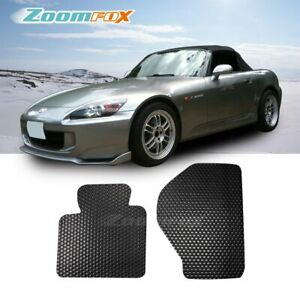 Fit 2000 2009 Honda S2000 Ap1 Ap2 Black All Weather Rubber Floor Mats Liners