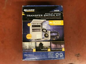 Reliance Back up Power 306lrk 6 circuit Complete Transfer Switch Kit P2