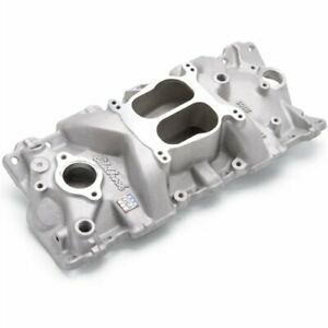 Edelbrock 2101 Performer Intake Manifold For 1955 1986 Small Block Chevy